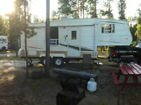 24 Ft Conquest Fifth Wheel