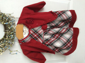 The Children's Place Christmas Dress 3-6m