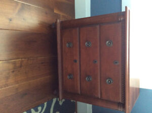 2 Durham Furniture night stands. Savile Collection Solid Maple