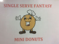 Sell our mini donuts at your Fund Raiser and make money
