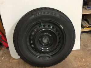 Four 195 65 15 Snow Tires/Rims