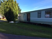 Standard caravan with two bedrooms fully equipped kitchen toilet shower