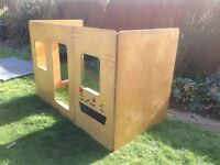 Large wooden play house