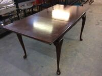 Dining Table and choice of 2 sets of Four Dining Chairs