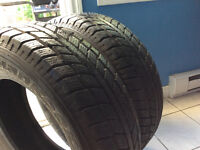 Very good condition  2 winter tires 215 70 16 Hankook I pike