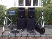 Yamaha Stagepas 500 Full System......Powerful, Compact, Lightweight