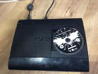PS3 Super Slim 160GB Hard drive Console