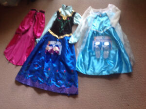 Brand New Disney Frozen Princess Dresses with Matching Shoes $30