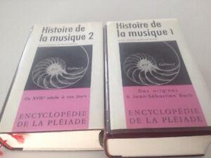 Histoire de la musique Encyclopédie de la Pléiade