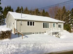 Just Listed! Bungalow with 1 Acre building lot in Whitbourne.