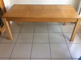 Solid Wood Dining Table 180cm Long
