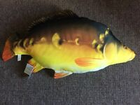 New large fun fish cushion / pillow