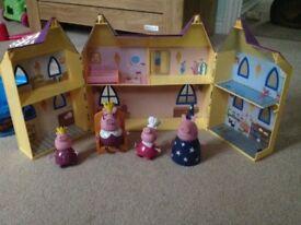 Peppa pigs castle