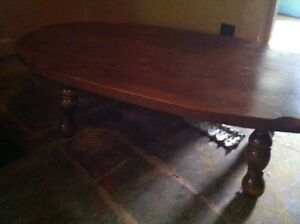 Solid Wood Coffee Table in good shape