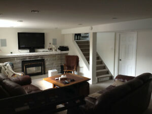 2 Bedroom Basement in Shared Home - Available Mar 1