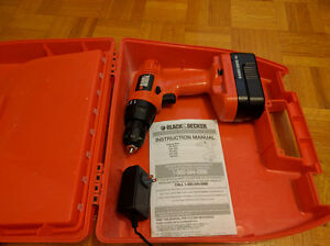 Perceuse Drill Black and Decker 18V