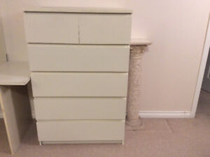 Ikea Malm 6-drawer chest for sale!!