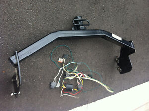 Trailer hitch and wiring