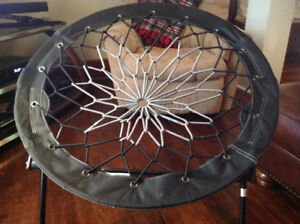 Bungee cord fold up chair