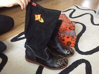 Ladies boots size 7 (size 41)