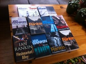Ian Rankin collection -- including first edition hardcover!