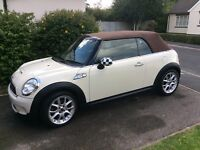 Mini Cooper s convertible only 18k 2009