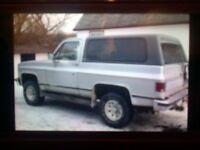 1989 k5 blazer