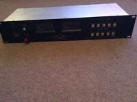 CTP SYSTEMS (SMU10C) 10 INPUT STEREO MONITOR UNIT