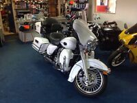 Harley Davidson Ultraglide rare.. road registered in 2012