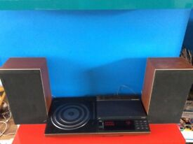 Vintage Bang & Olufsen Beocentre 5000 + Beovox S45-2 Speakers (needs attention)