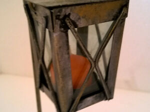 Brand new decorative metal lantern candle holder with stand London Ontario image 2