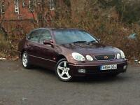 Lexus GS 300 3.0 automatic SE Red 4-door Saloon
