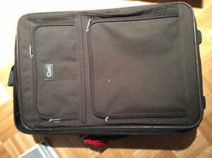 COMPLETE BROWN CIAO TRAVEL LUGGAGE SET - mint condition
