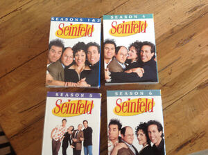 SEINFELD'S SEASON 1,2,4,5 and 6
