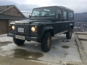 2001 Land Rover Defender CSW Wagon
