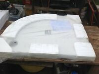 New shower tray 800mm x 1000mm