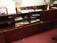 Wooden Office Storage Units