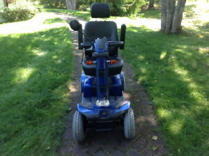 Pride Mobility Scooter  Viper Blue  Never Used