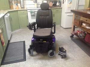 Purple Pulse Electric Wheelchair.  Used for 2 months