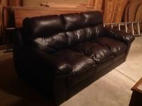 Black 3 seat couch for sale!!! Need gone within 48 hours!!!