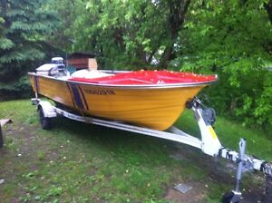 16' FIBERGLASS FISHING  BOAT