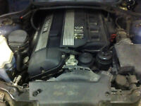 BMW ENGINE FOR SALE 177KMS WITH 5SPD TRANSMISSION $600!!!!!!!!!!