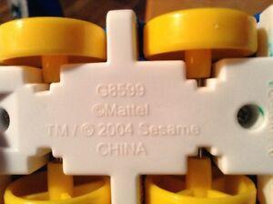 2 LOT VOITURE 2004 MATTEL SESAME STREET BIG BIRD AND ELMO Gatineau Ottawa / Gatineau Area image 6
