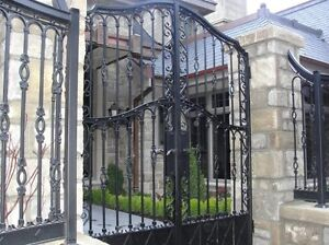 Trade driveway gates for car or truck