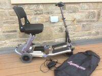 LUGGIE FOLDING MOBILITY SCOOTER, FREE DELIVERY
