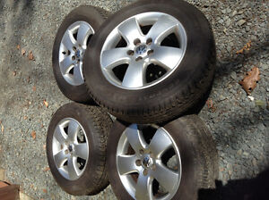 Volkswagen Alloy Rims with Tires in Excellent Condition