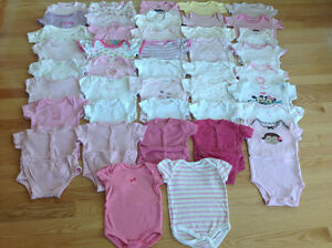 LOTS OF ONESIES/DIAPER SHIRTS