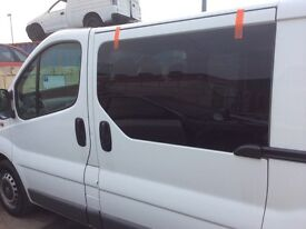 Van side windows cut and fitted all makes and models.
