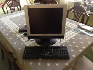 For Sale: 17 Inch VIEWSONIC Monitor with Keyboard