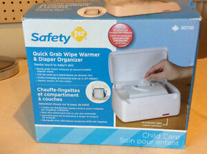 New wipes warmer and diapers organizer.